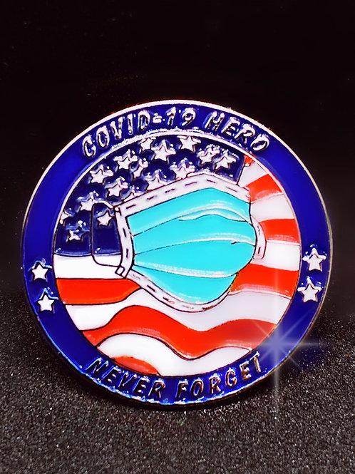COVID-19 Hero Pin