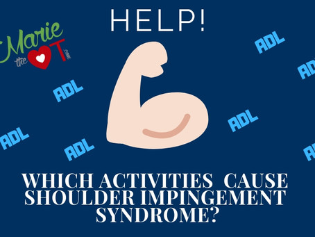 Help! Which activities can cause shoulder impingement syndrome?