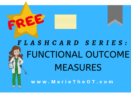 Flashcard Series: Functional Outcome Measures - Toolbox