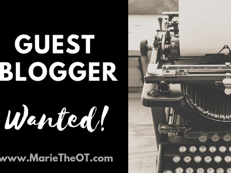 MARIETHEOT.COM IS LOOKING FOR GUEST BLOG WRITERS!