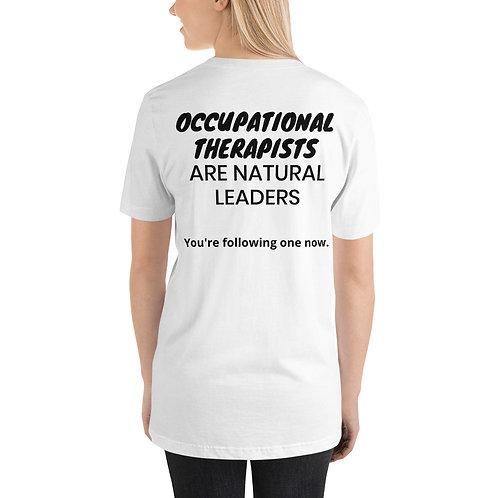 Camiseta unisex Líderes de terapia ocupacional de manga corta