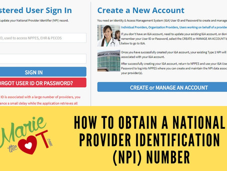 How to Obtain a National Provider Identification (NPI) Number