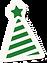 sombrero de fiesta verde