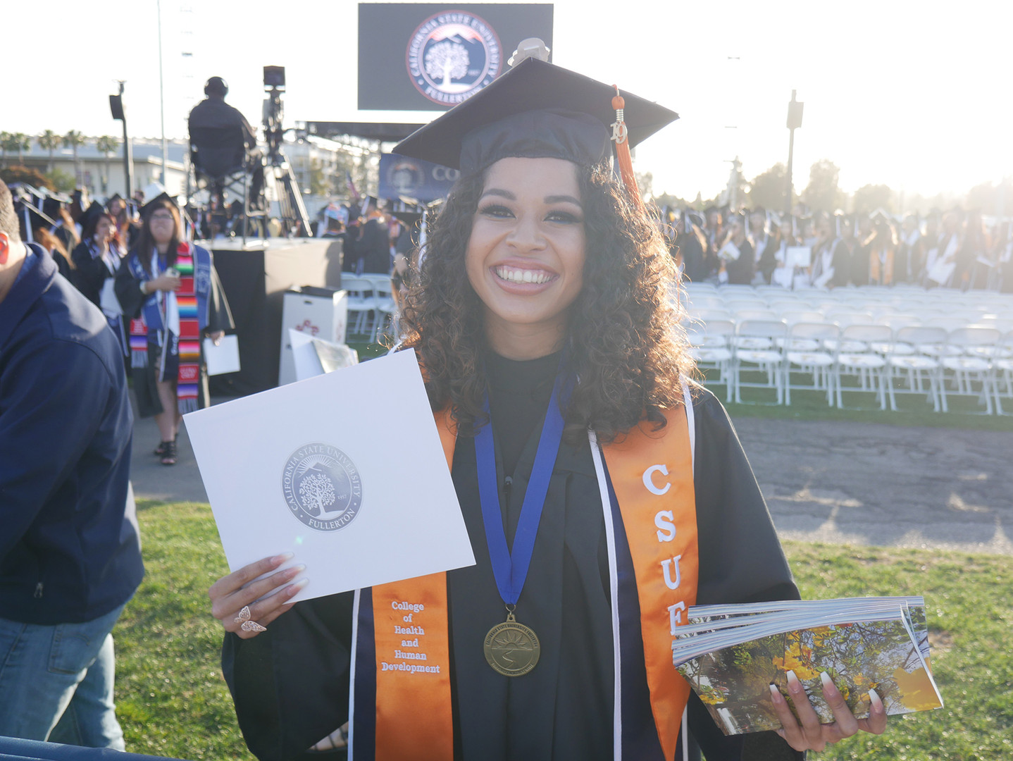 Junely Graduate of CSUF
