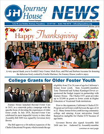 Journey House newsletter Winter 2018