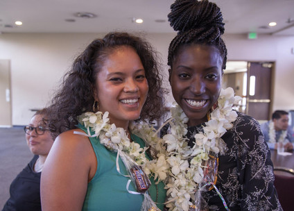 Miani who recently graduated from the University of Syracuse and Olivia who graduted from Cal Baptist University