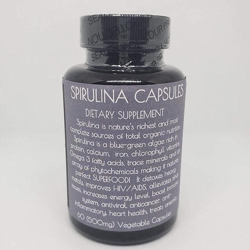 Spirulina - 60 Capsules