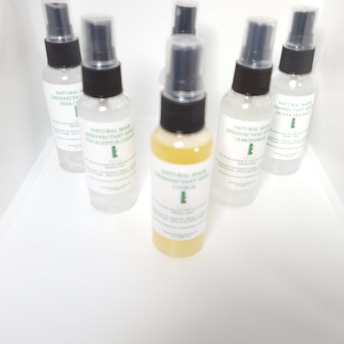 Natural Face Mask Disinfectant Spray