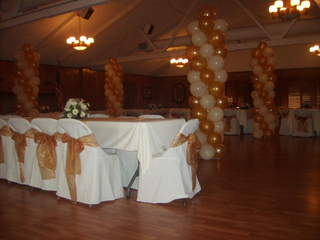 columna con globos