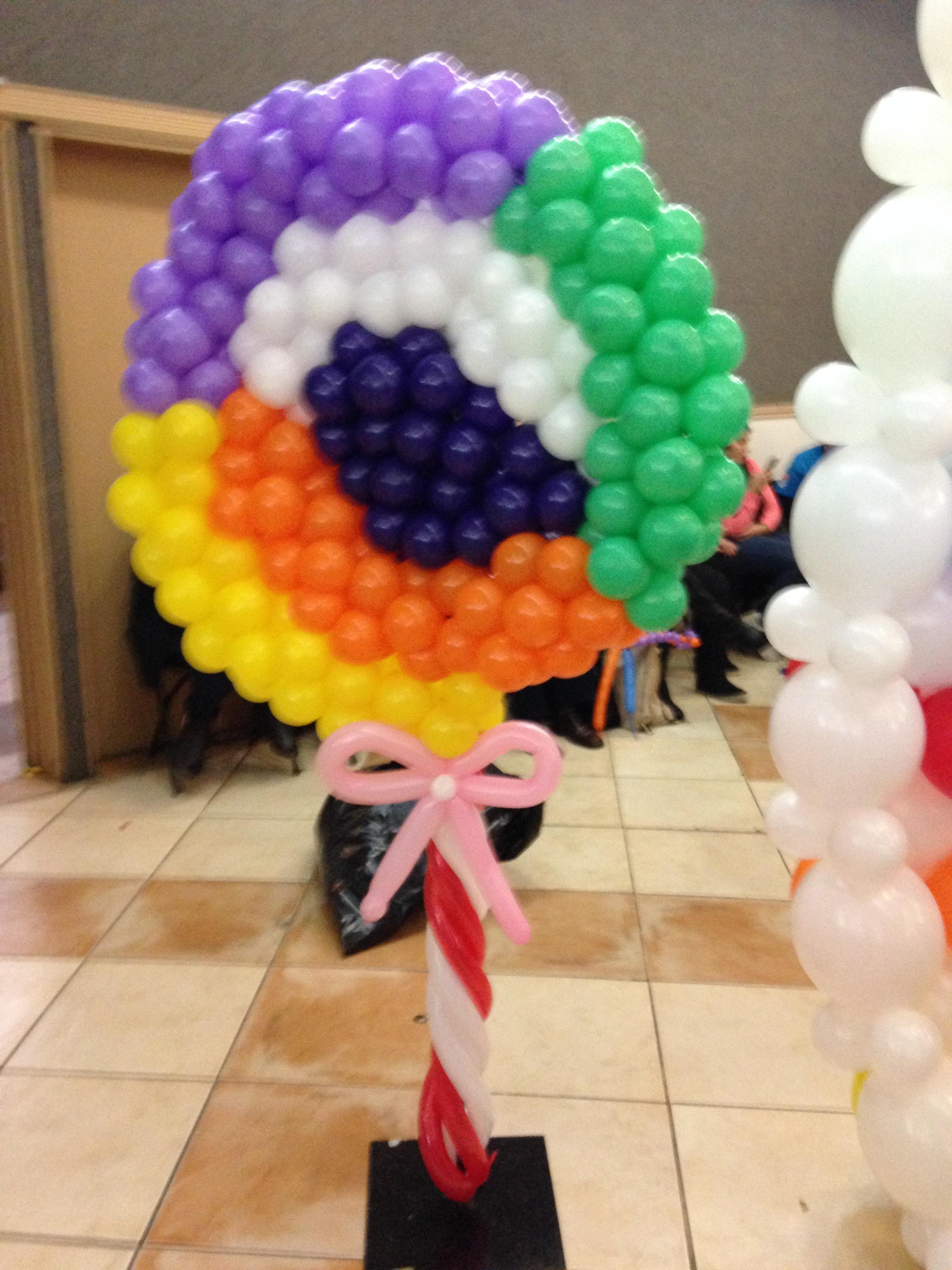 pirueta con globos