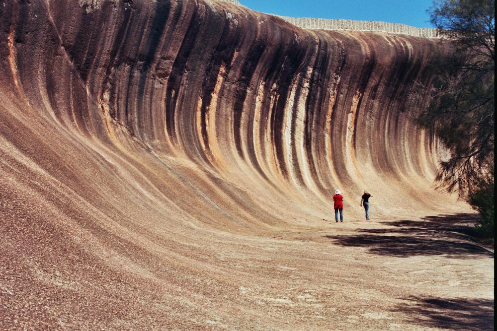 Ron Orr - Wave Rock WA