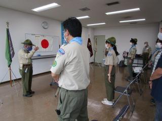 2021/4/4 上進・入隊式