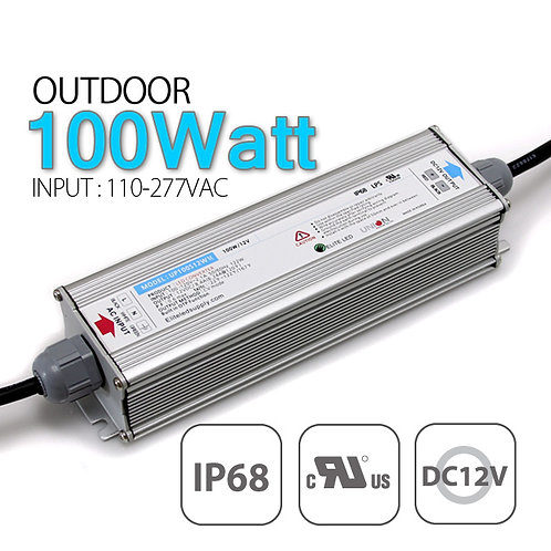 Union Elecom 12VDC 100Watt LED Power Supply