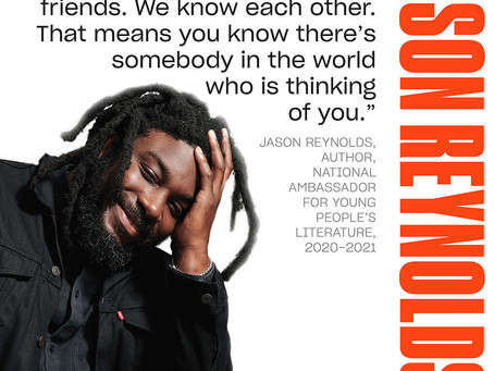 Grab the Mic - Jason Reynolds starting online  project for young writers