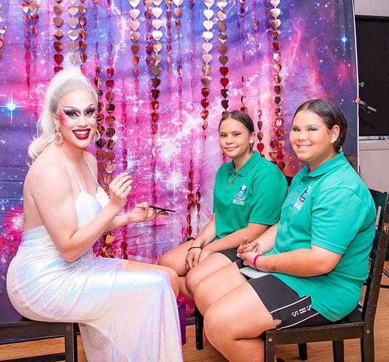 2020 Broome Pride Drag MakeUp workshop