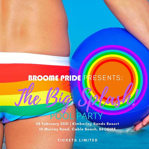 Turquoise Illustrated Pool Party Invitat