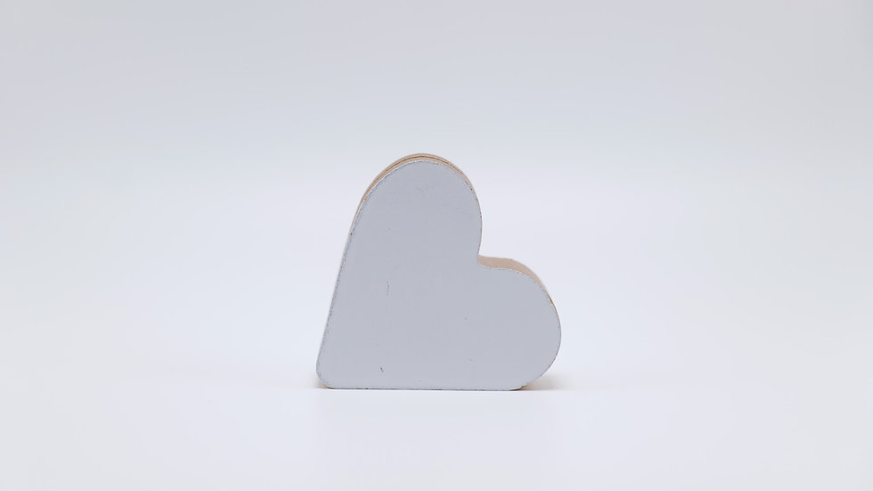 White Heart Shaped Paper Holder Rental
