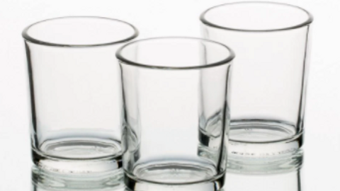 Clear Votive Candles