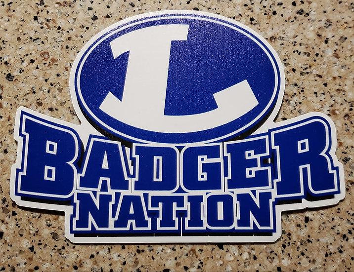Badger Nation Magnet