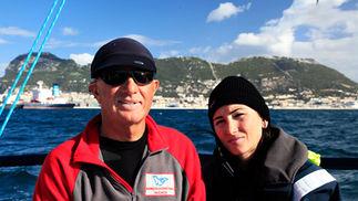 Leaving La Linea, Gibraltar