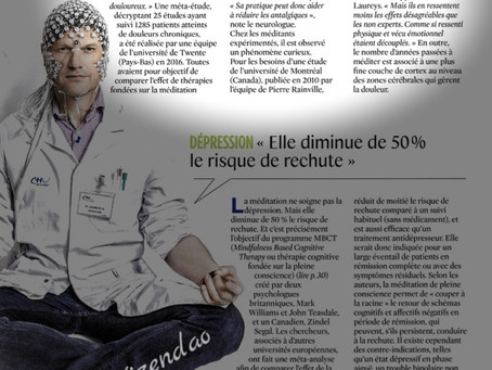 """DOULEUR """"La méditation aide à réduire les antalgiques"""""""