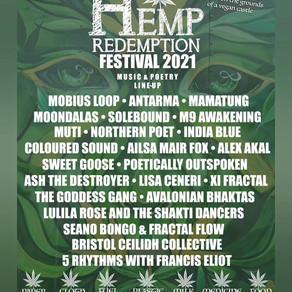 HEMP REDEMPTION ~ MOBIUS LOOP FESTIVAL 6-7-8 AUGUST 2021