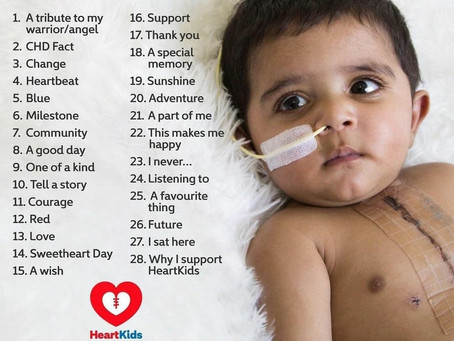 HeartKids SweetHeart Day Photo Challenge