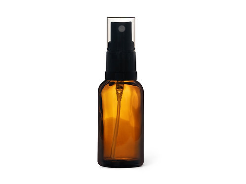 30ml Amber Glass Bottle - various closures