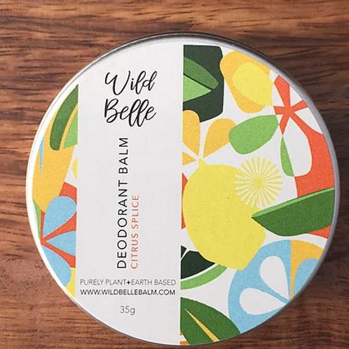 Natural Deodorant - Wild Belle