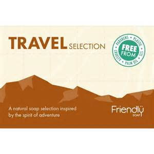 Friendly Travel Soap Selection Box