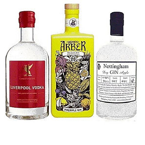 Gin Vodka and Whisky