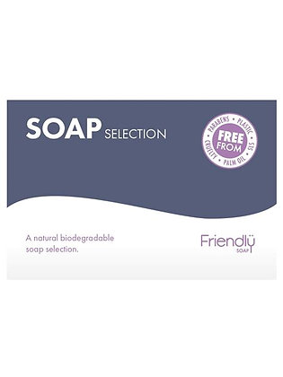 Friendly Natural Soap Bar Selection Box