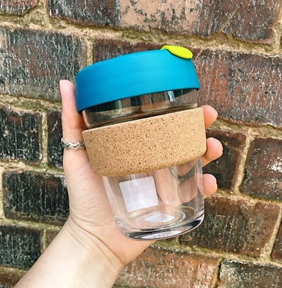 Reusable Glass Coffee Cup by KeepCup