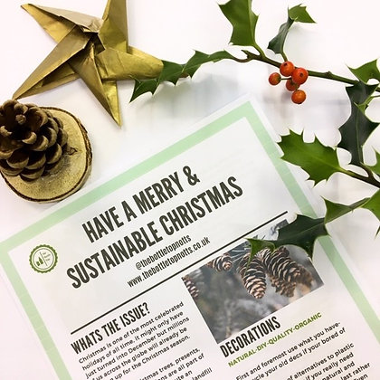 * FREE USE CODE SCFREE19* How You Can Be Eco Friendly This Christmas