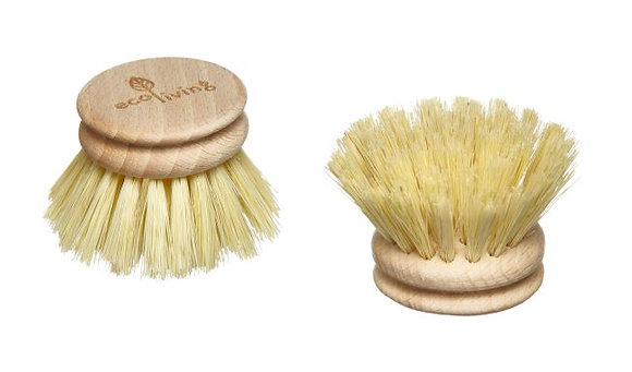 Wooden Dish Brush Replaceable Head