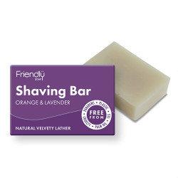 Friendly Soap Orange & Lavender Shaving Bar
