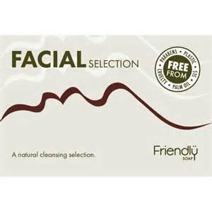 Friendly Soap Facial Natural Cleansing Bar Selection Box
