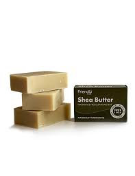 Friendly Soap Shea Butter Fragrance Free CleansingBar