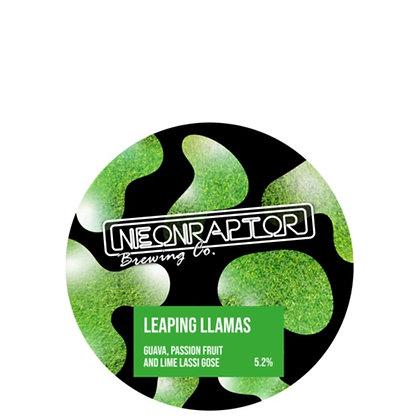 Neon Raptor - Leaping Llamas