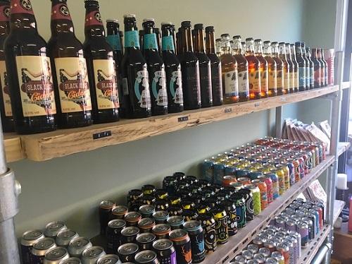 Bottle Top craft beers