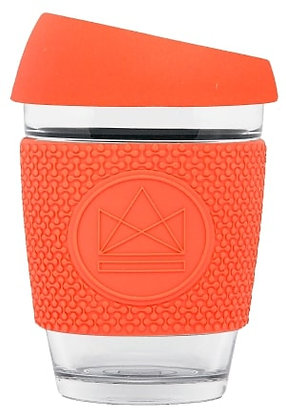 Neon Kactus Reusable Glass Coffee Cup