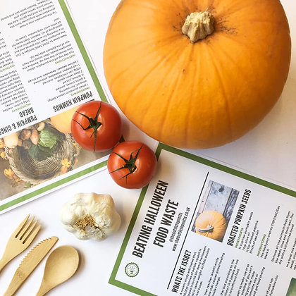 FREE *USE CODE PUMPKIN* Combat food waste this Halloween- Cooking with Pumpkin