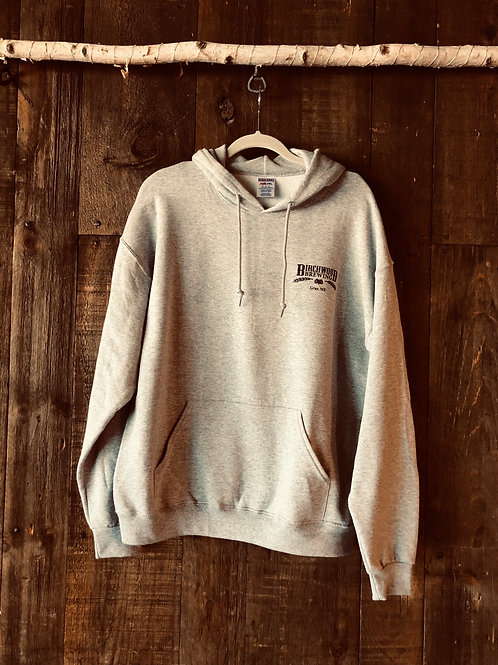 Gray Hoodie Sweatshirt
