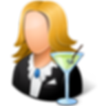 Occupations-Bartender-Female-Light-icon.