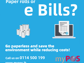 Go paperless and save money and the environment!