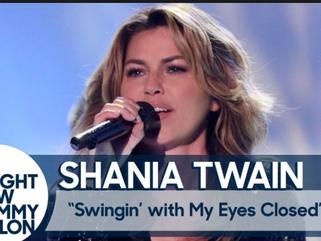"""Shania's Hot New Single, """"Swingin' With My Eyes Closed"""""""