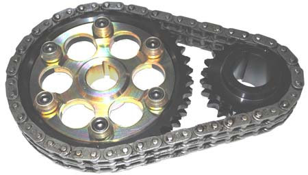 BMC A Series - DUPLEX Timing Chain and Rota Slide Steel Gear Set