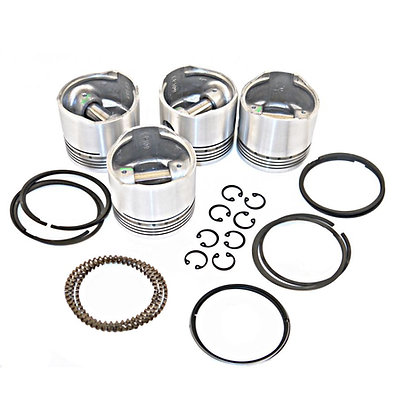 A Series 1098 8.5:1 CR PISTON SET [4] CIRCLIP TYPE STD