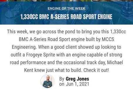 MCCS - Engine Builder of the week!