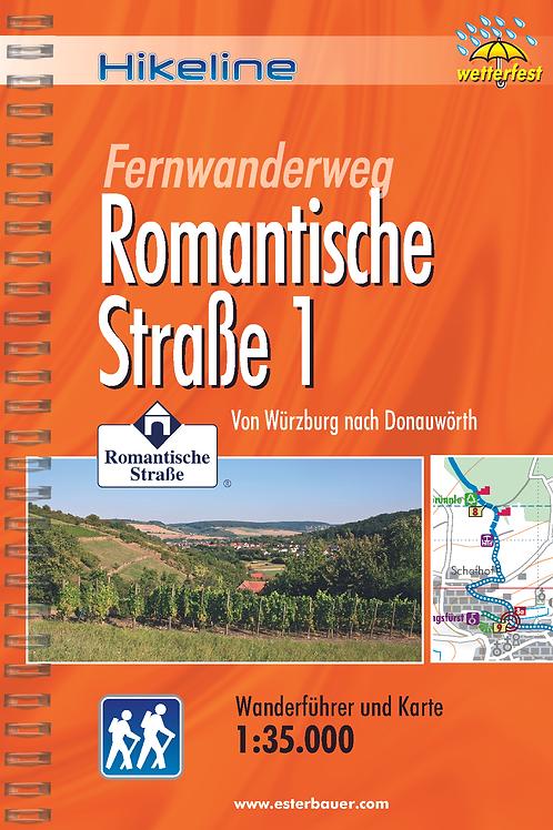 Infopaket FERNWANDERWEG Romantische Straße Würzburg-Donauwörth inkl. Reiseplaner